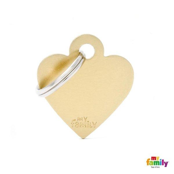 cuore giallo chiaro