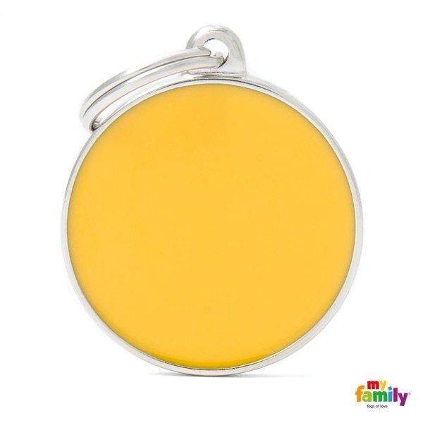 ciondolo giallo