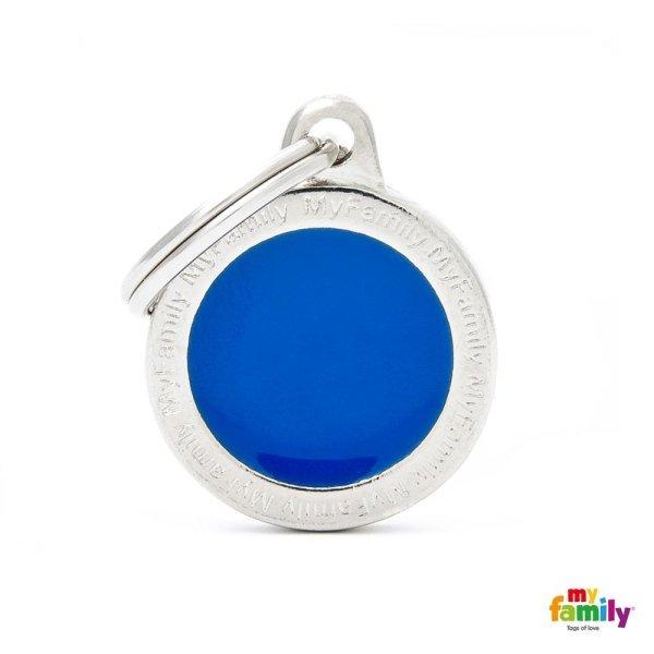portachiave blu