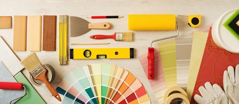 Decorative paint supplies