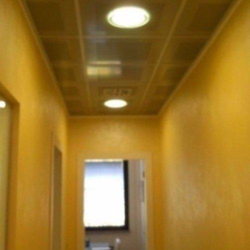 tinteggiatura corridoio in giallo