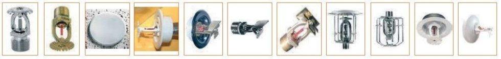 componenti impianti sprinkler