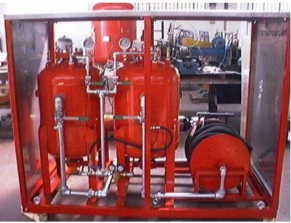 Preassembled fire prevention systems
