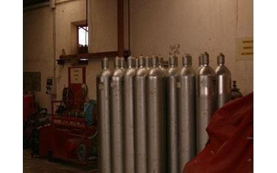 controllo bombole antincendio