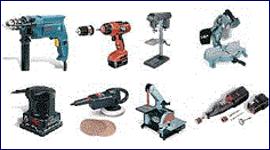 macchinari per edilizia, utensili per legno