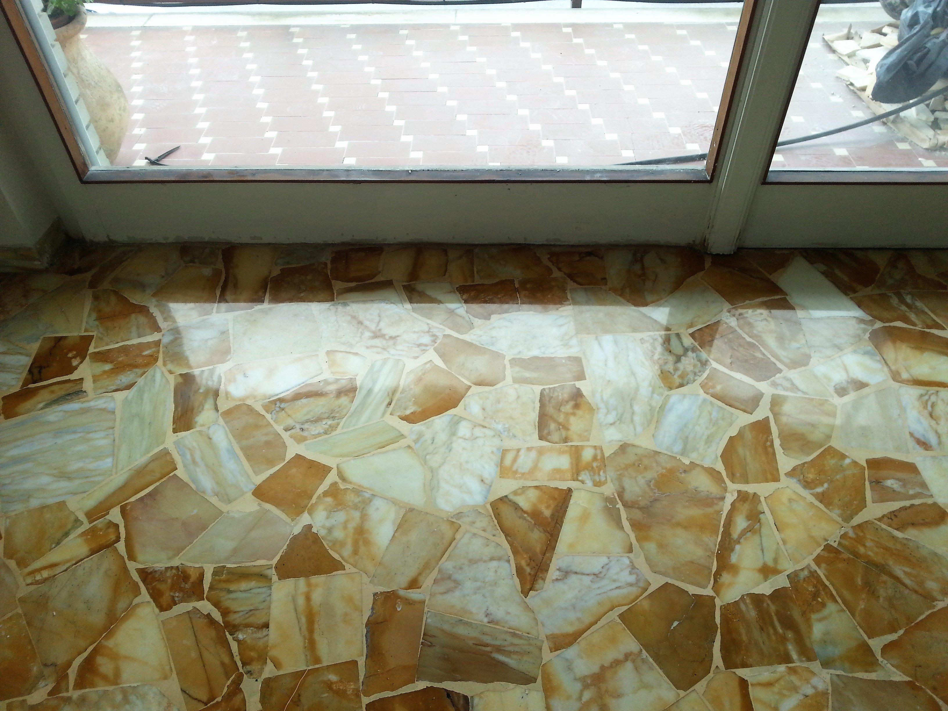 pavimento alla palladiana