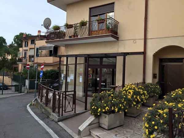 esterno e giardino Punto Gea Fiano Romano (RM)