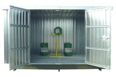 container metallici stoccaggio