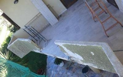 Situazione esistente balcone