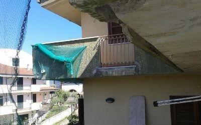 Situazione esistente facciata e balcone