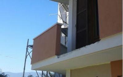 Dettaglio risanamento balcone