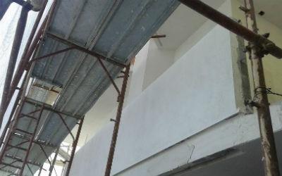 Balcone risanato