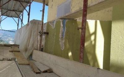 Balcone da risanare