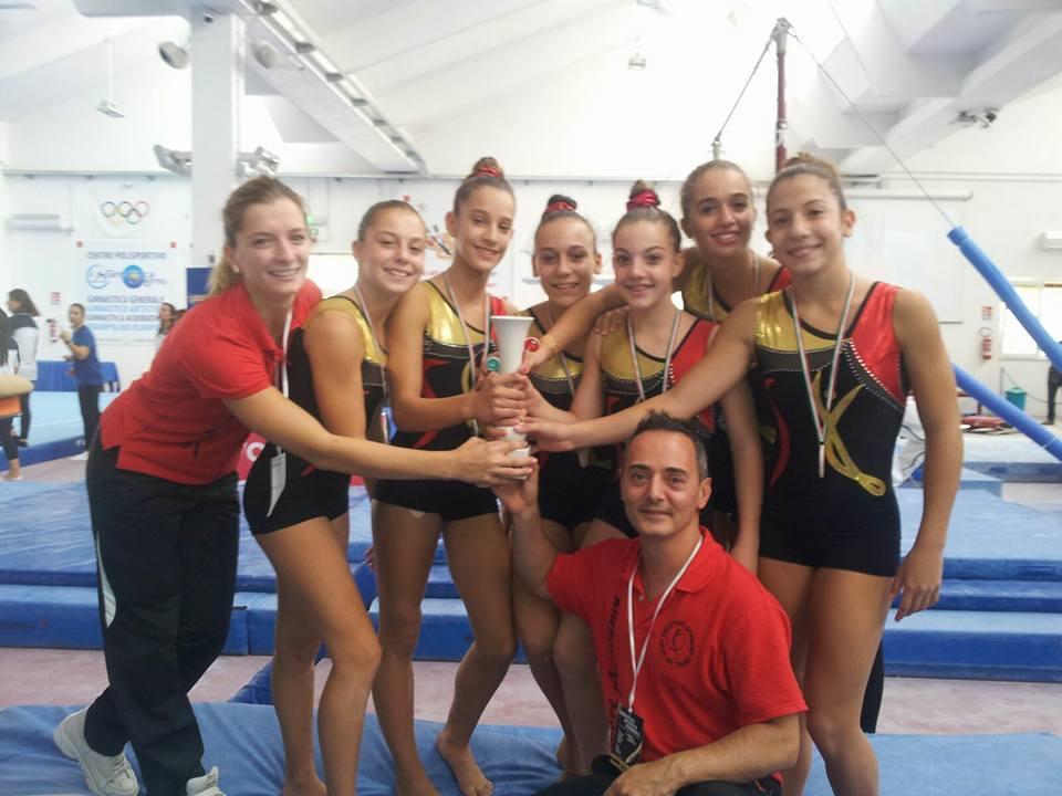 Interregionale FGI serie C2 GAF la squadra femminile conquista il terzo posto.