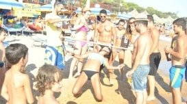 campo da pallavolo, beachvolley, feste sulla spiaggia
