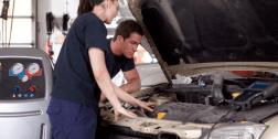 convergenza gomme, revisione automobili, iniettori benzina