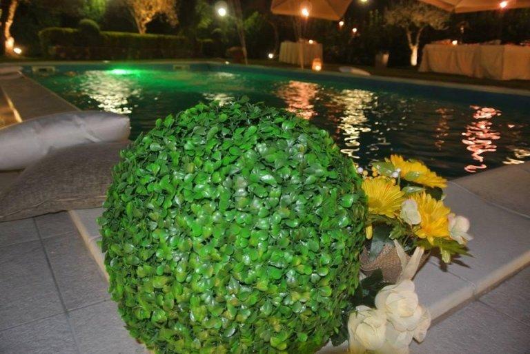piscina in ristorante