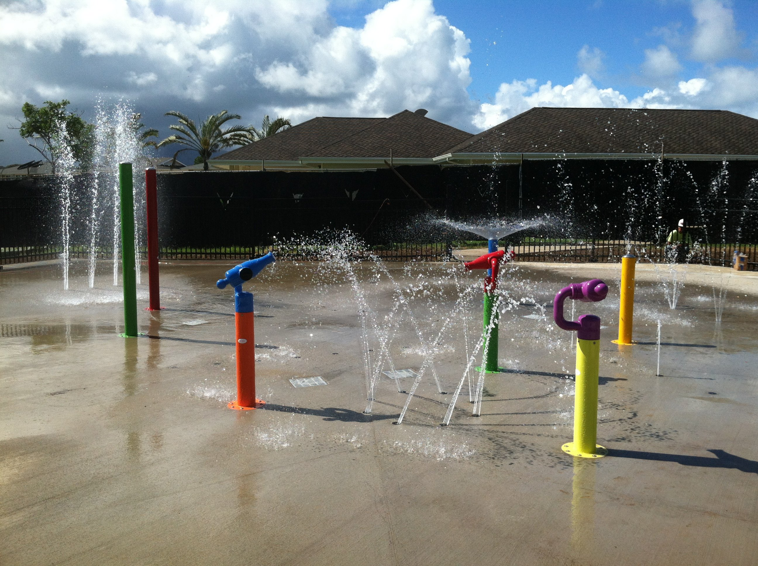 November 2012 - New Splash Park - Mololani Community Center