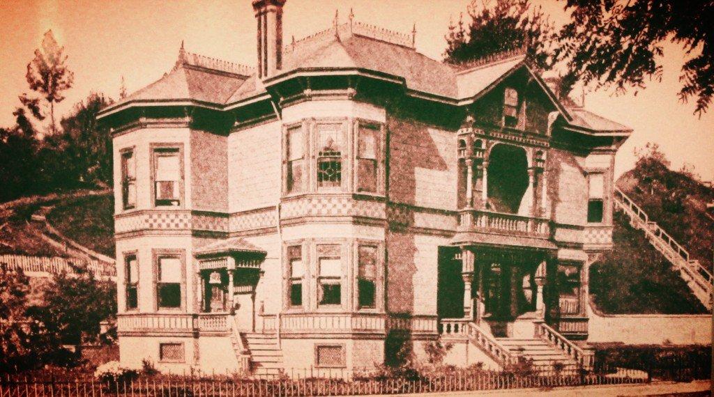 Hinds House Santa Cruz 1889 photo