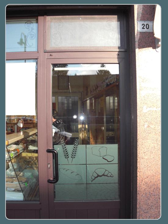 particolare vetrata