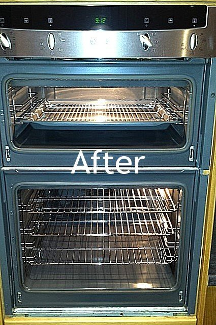 after appliance cleaning