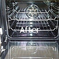 after cleaning appliance interiors