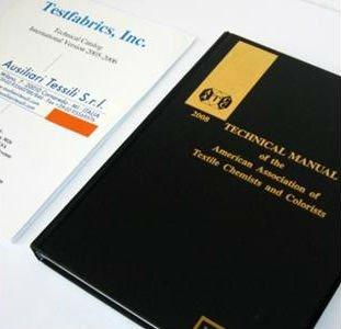 Manuali AATCC e ASTM