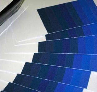 test per scala dei blu