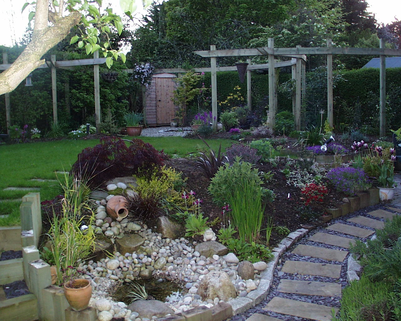 fancy garden design