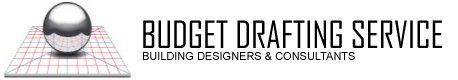 budget drafting service business logo