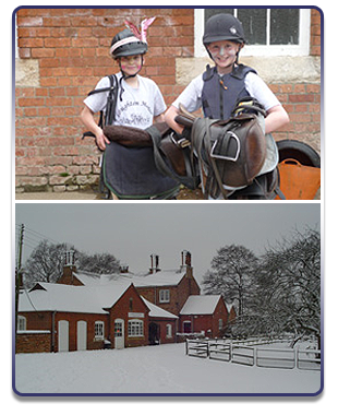 Why not go on a riding holiday? For more information, call Loughton Manor Equestrian Centre on 01908 768 933