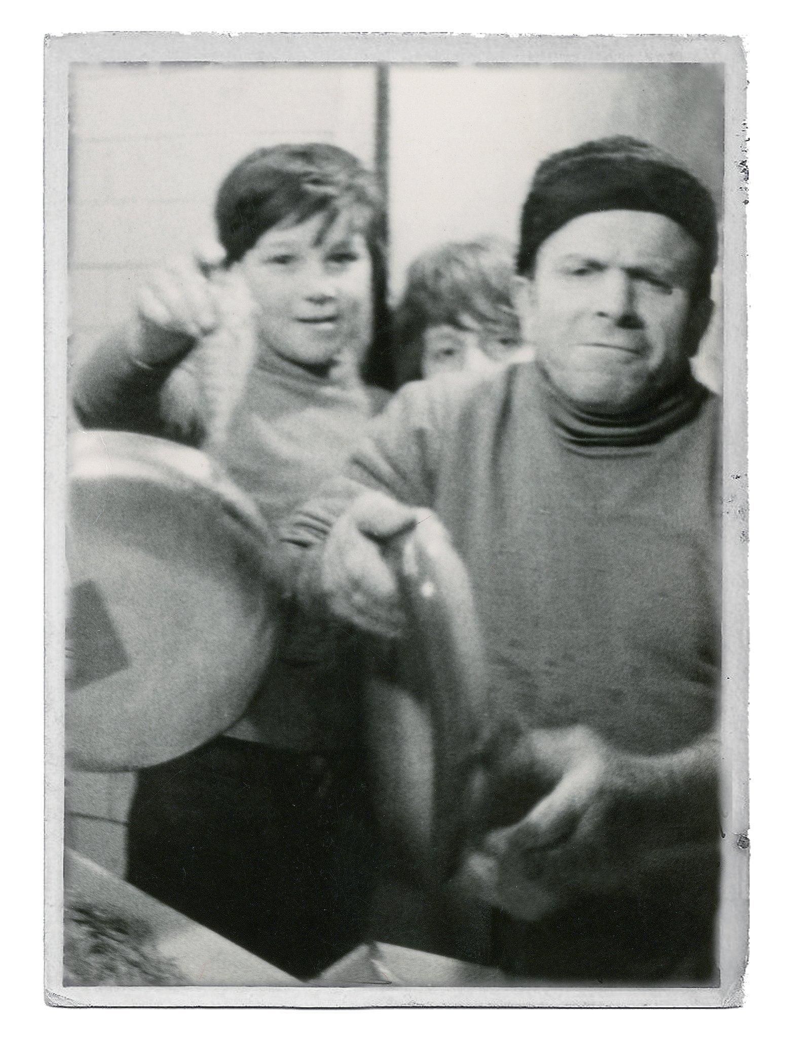 foto storica del negozio Carofiglio