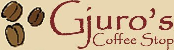 Gjuro's Coffee Stop logo