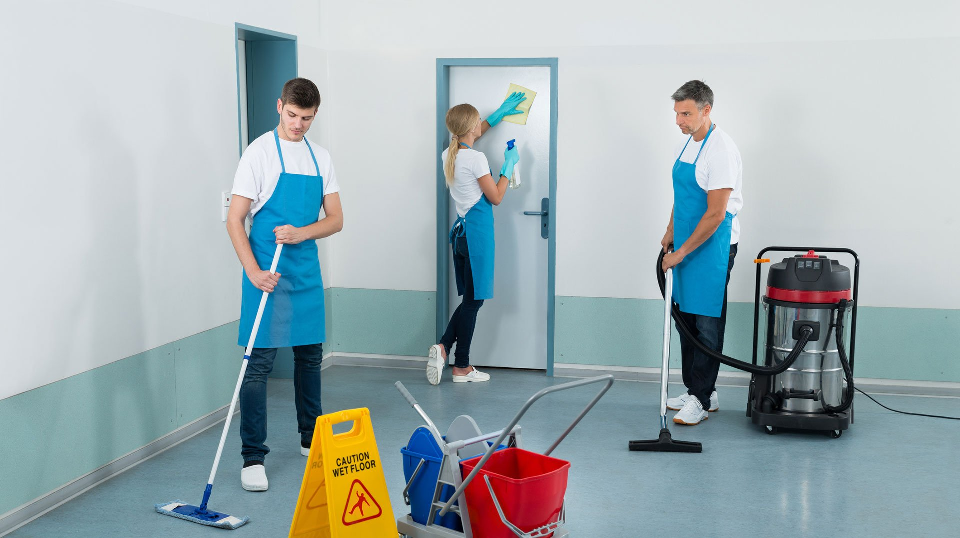 Image result for Janitorial Services istock
