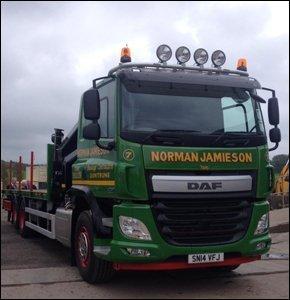Transport services - Angus, Scotland - Normal Jamieson Ltd - Scaffolding Transportation