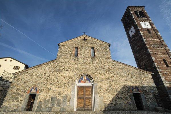 Una chiesa di Civiitella d'Agliano