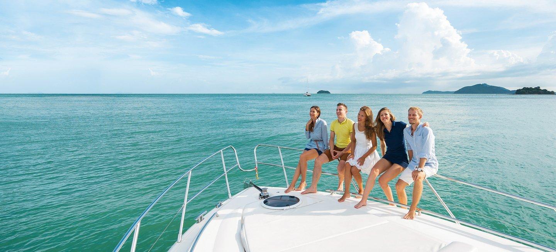 amici in barca