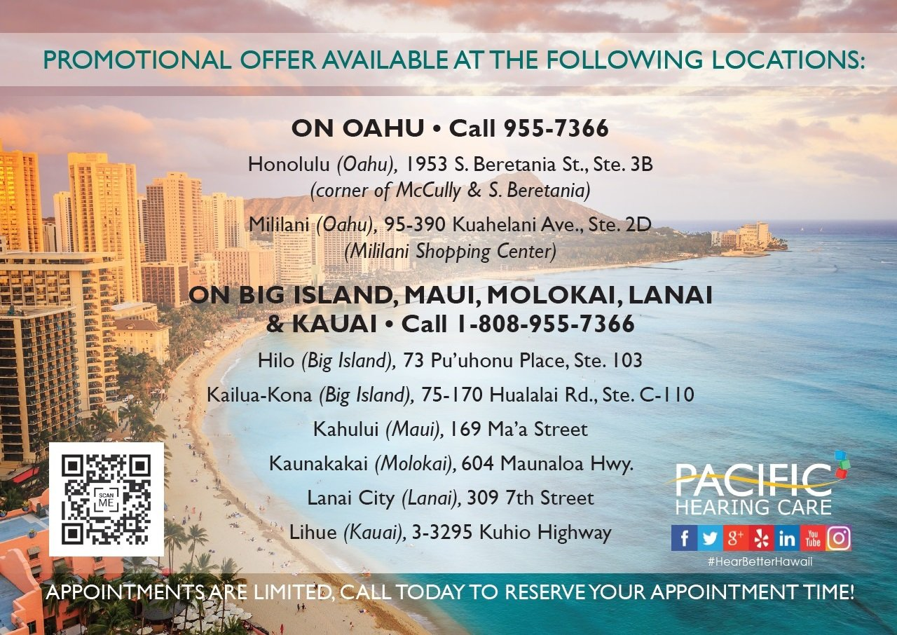 pacific hearing care locations