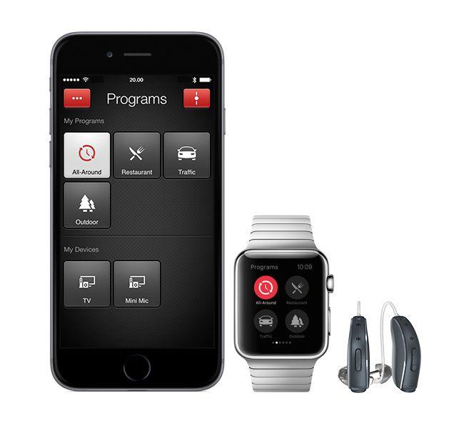 iphone hearing machine