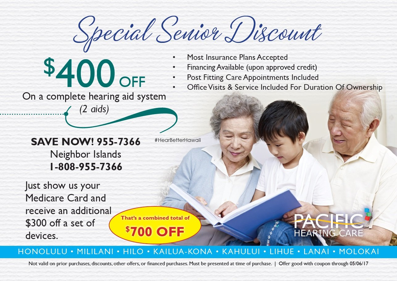 special senior discount coupon