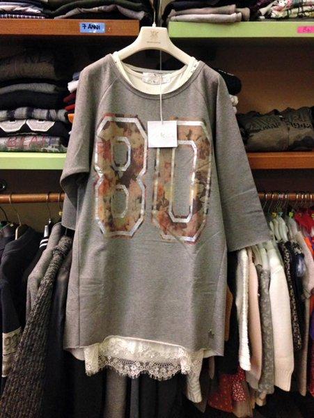 maglione con numero 80