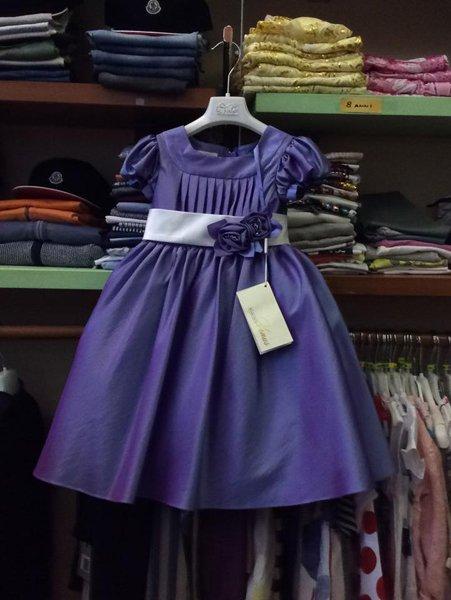 vestito blu flash appeso per bambina
