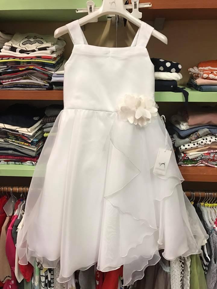 vestito da comunione bianco