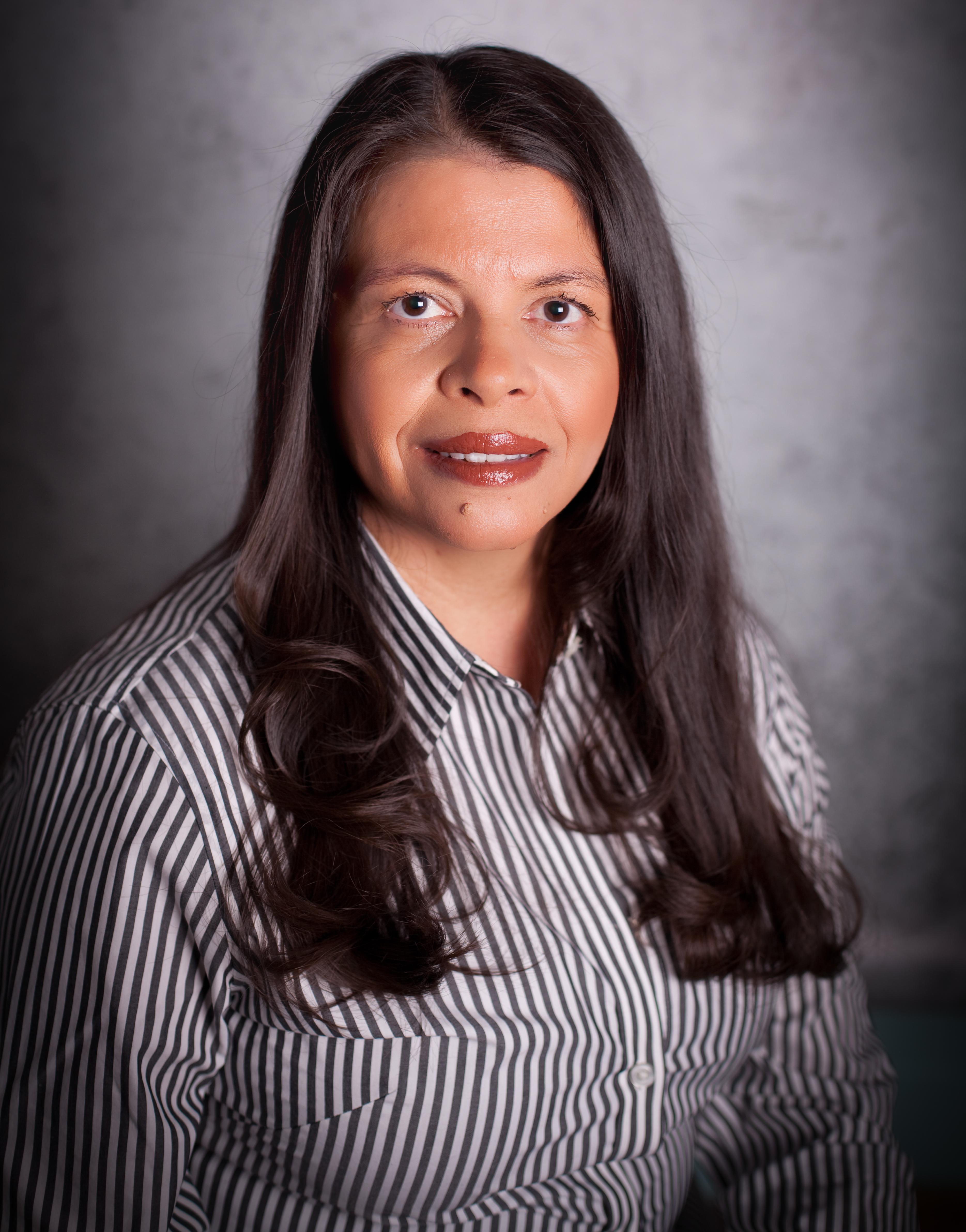 Office manager Juana Johnson