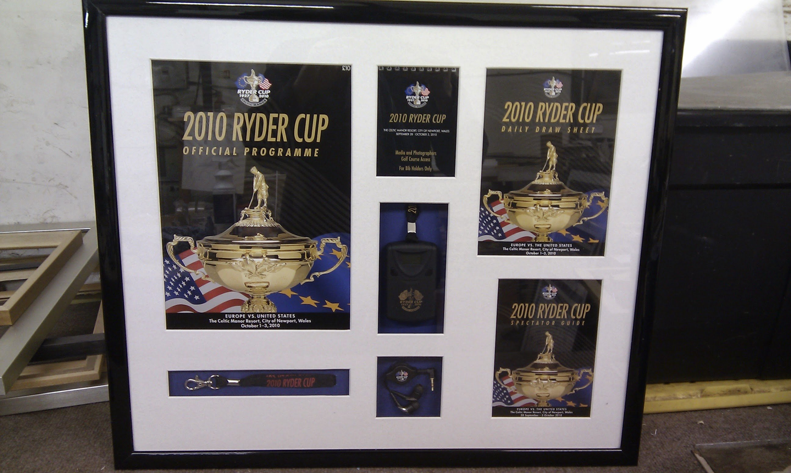 2010 RYDER CUP awards