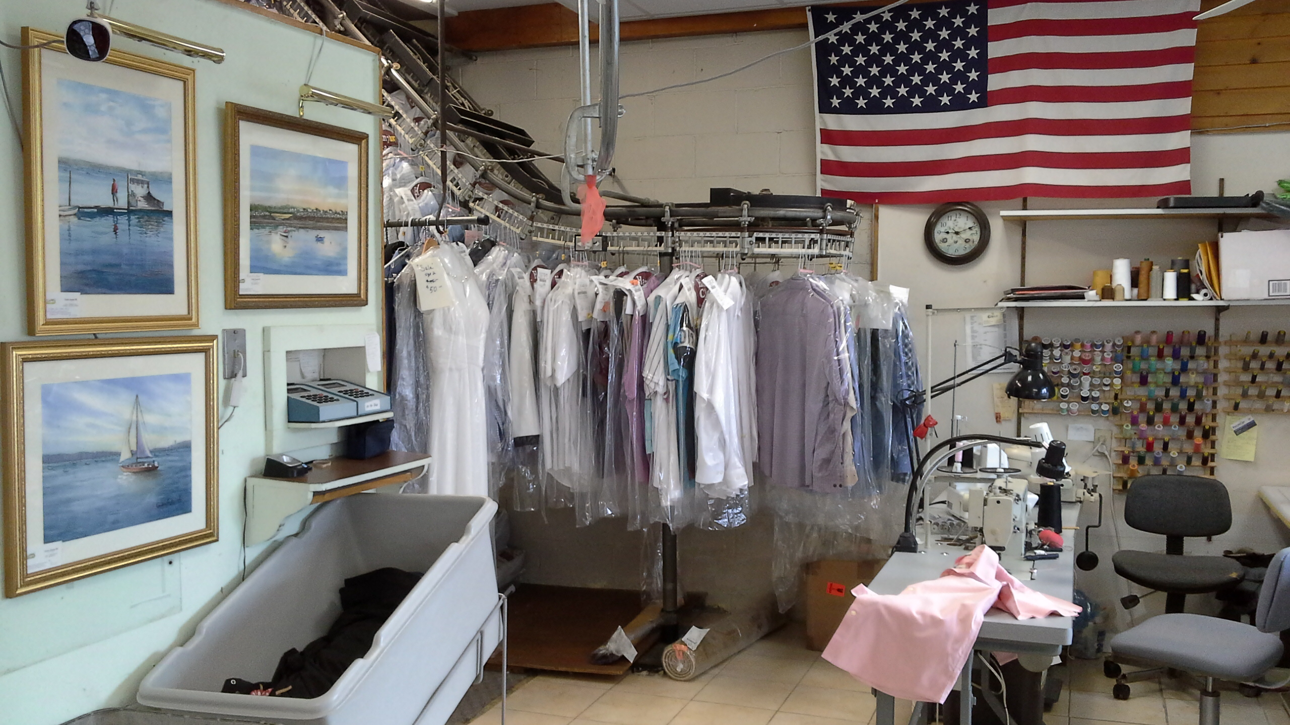 pick up laundry service Hampton, NH