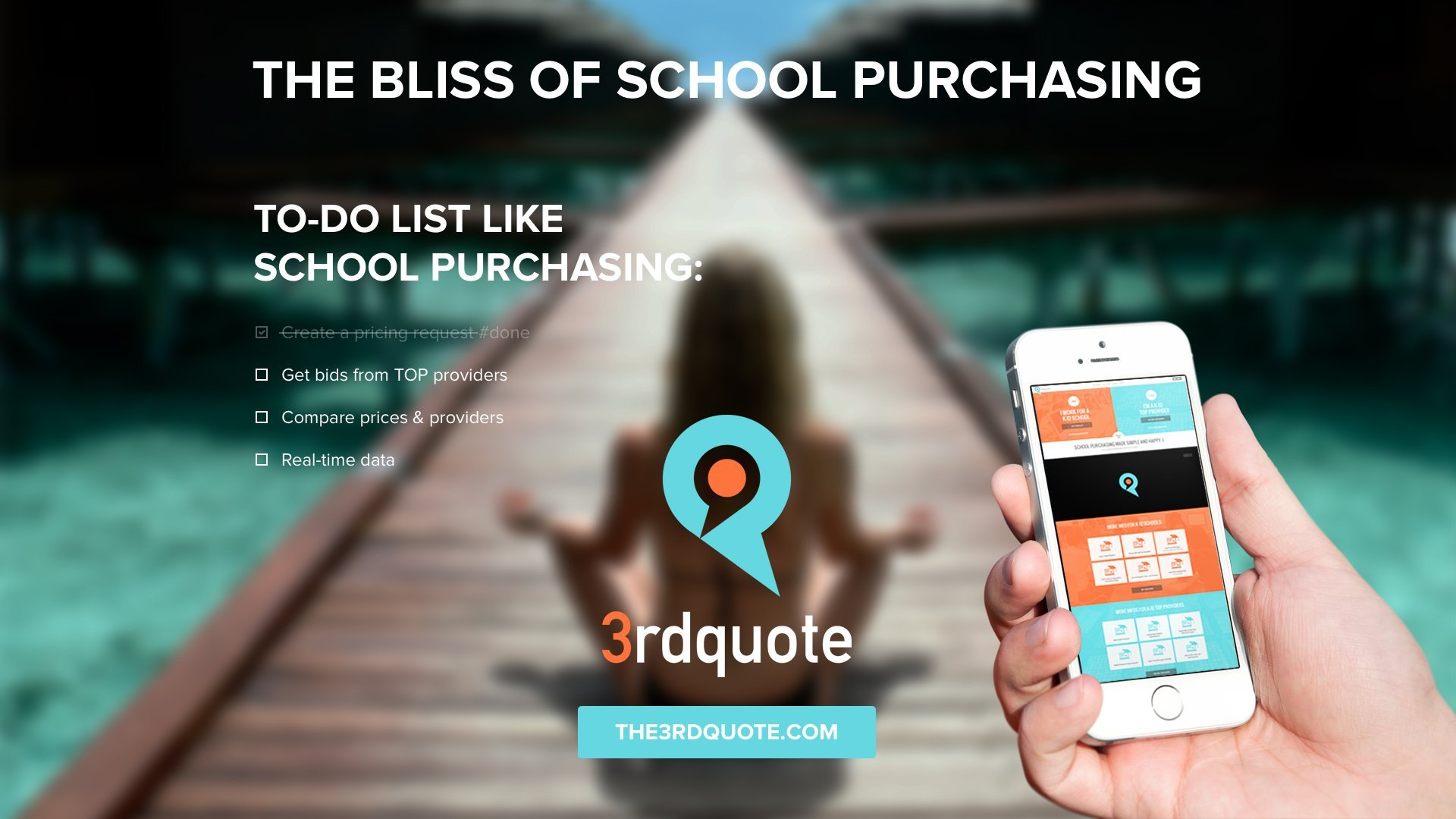 3rd Quote - Bliss of School Purchasing Image