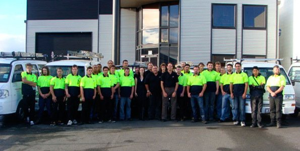 The Roofing Specialists team