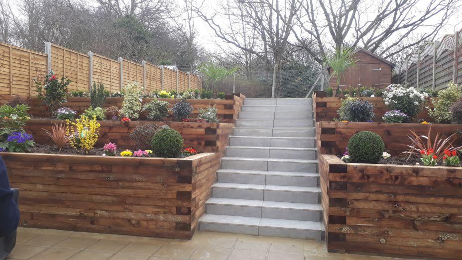 garden wall design - Garden Wall