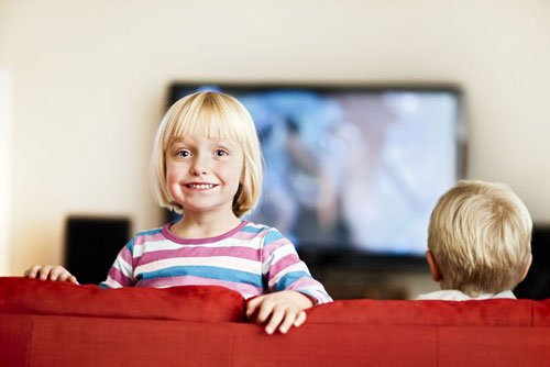 Kids are using and enjoying HD televisions in Lewisburg, PA